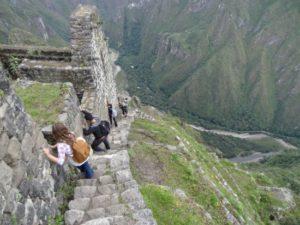 El tour a Huayna Picchu