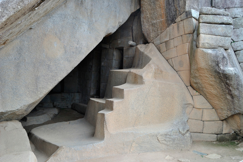 Temple of the Moon in the Huayna Picchu