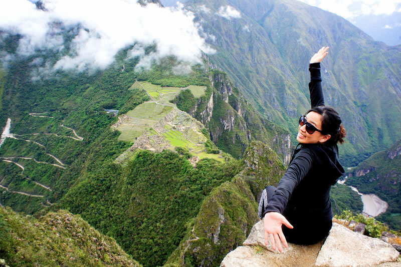 Huayna Picchu a challenge for visitors